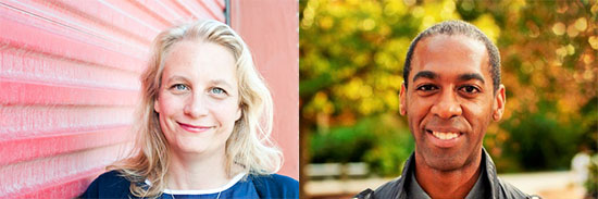 New faculty members Emily Pohl-Weary and Ian Williams